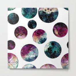 Galaxy Geometric Pattern 29 Metal Print
