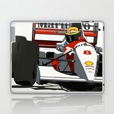 AYRTON SENNA- MONACO GRAND PRIX Laptop & iPad Skin