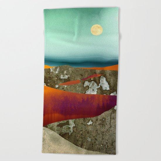 Desert Moon Beach Towel