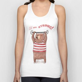 I am strong Unisex Tank Top