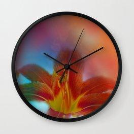 liking orange -01- Wall Clock