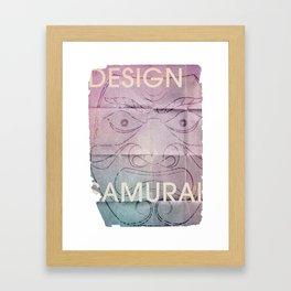 Design Samurai Framed Art Print