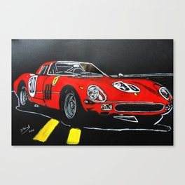 Red Car Canvas Print