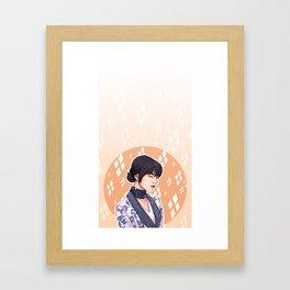 Fem Suga BT BS&T Framed Art Print
