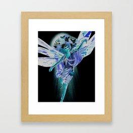 Absinthe Fairy Framed Art Print
