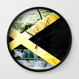 She Ja Makes I and I love her Wall Clock