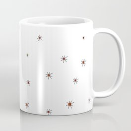 Franciscan Starburst, orange Coffee Mug