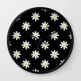 A Handful of Daisies Wall Clock