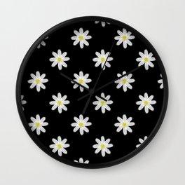 A Handful of Daisies Wall Clock