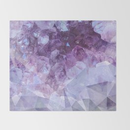 Crystal Gemstone Throw Blanket