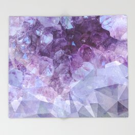 Crystal Gemstone Throw Blanket