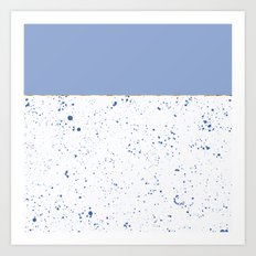 XVI - Blue 2 Art Print