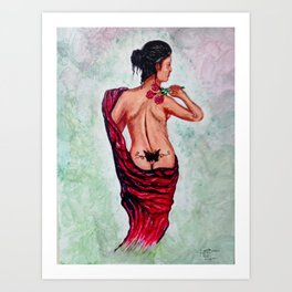 A Rose By Any Other Name Is Still a Women Art Print