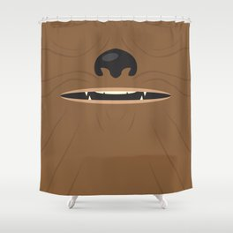 Fuzzball Shower Curtain