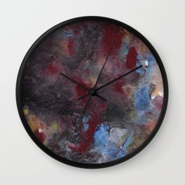 Cherry Psychedelic Wall Clock
