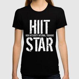 HIIT High Intensity Interval Training Star T-shirt