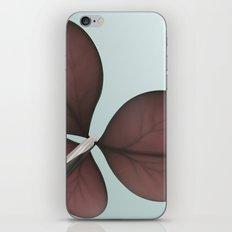 three leaf clover iPhone & iPod Skin