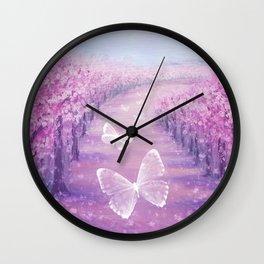 Butterflies' Field Trip Wall Clock