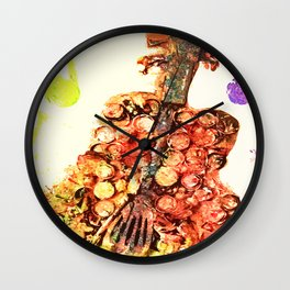 Re-purposed For Music Wall Clock