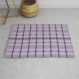 Luxury design ornaments, purple art Rug