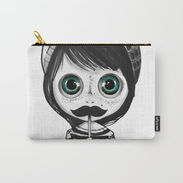 cute mustache Carry-All Pouch