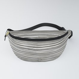 Rake Watercolor in Black and White Fanny Pack