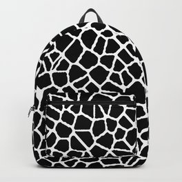 staklo (black with white) Backpack