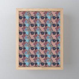 Cubed Framed Mini Art Print