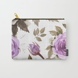 FLOWERS WATERCOLOR 9 Carry-All Pouch