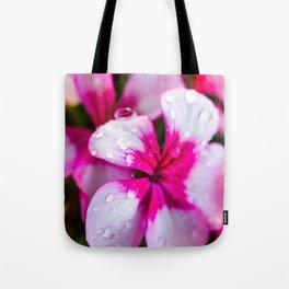 Dewey Geraniums Tote Bag