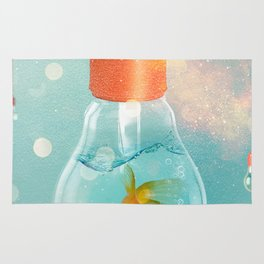 Goldfish Ideas Rug