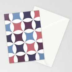 circular points Stationery Cards