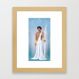 Greek Gods - Zeus Framed Art Print