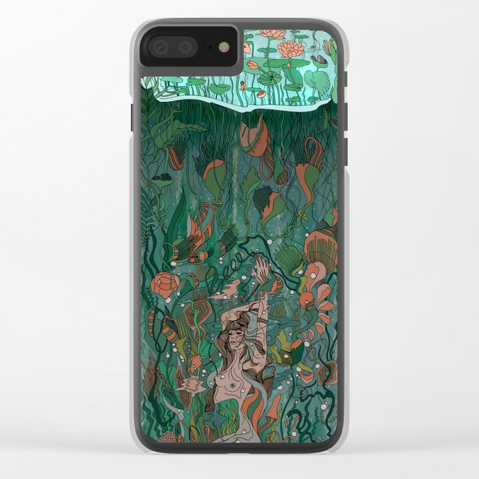 Make Peace With It Clear iPhone Case