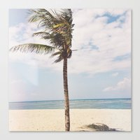 bali Canvas Prints featuring BALI by Rose Zhang