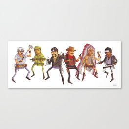 The Village People Canvas Print