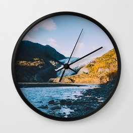 Exit Glacier - Kenai Fjords National Park Wall Clock