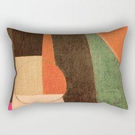 Soccer in the Sand Rectangular Pillow