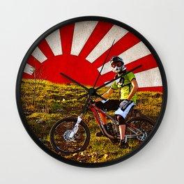 Empire of Riders Wall Clock