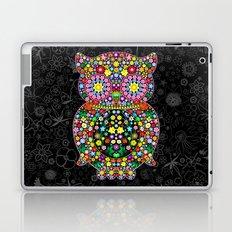Owl Zentangle Floral   Laptop & iPad Skin