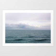The Ocean View Art Print