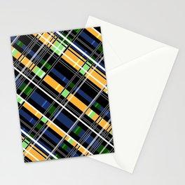 Striped pattern Stationery Cards