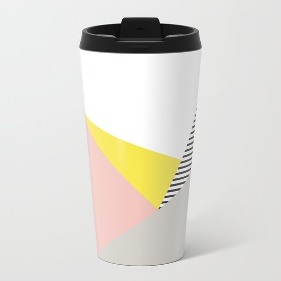 Minimal Complexity V.5 Metal Travel Mug