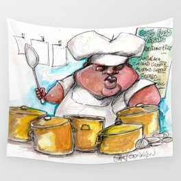 Creole Cooking Wall Tapestry