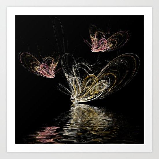 Butterfly Spirits Art Print