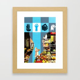 What is the Price of Rice, Anyway? Framed Art Print