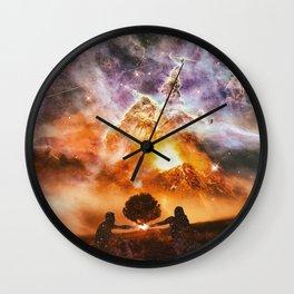 INFINITE WORLD #3 Wall Clock