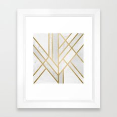 Art Deco Geometry 2 Framed Art Print