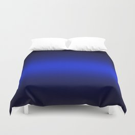 Gradient 8 black blue deepspace Duvet Cover