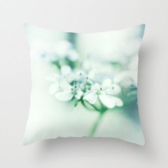 Petit Fleur Throw Pillow